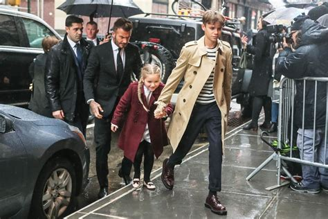 romeo beckham where does he live victoria beckham on touring with the spice girls
