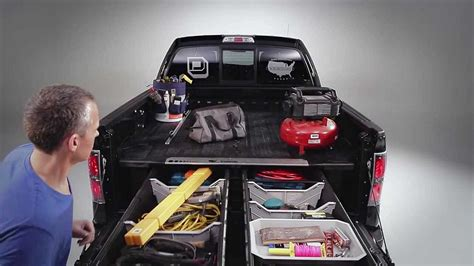 truck bed drawers decked decked adds drawers to your pickup truck bed for