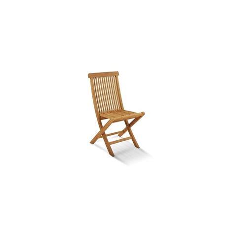 chaise pliante viken teck plantes et jardins