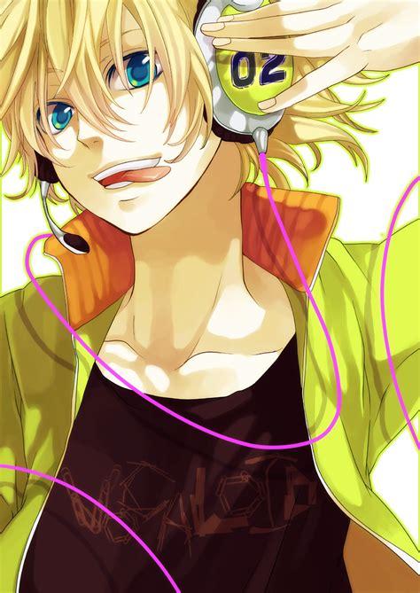 imagenes anime zerochan kagamine len len kagamine vocaloid mobile wallpaper