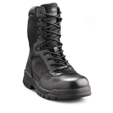 steel toed boots for bates 8 quot zipper steel toe boot