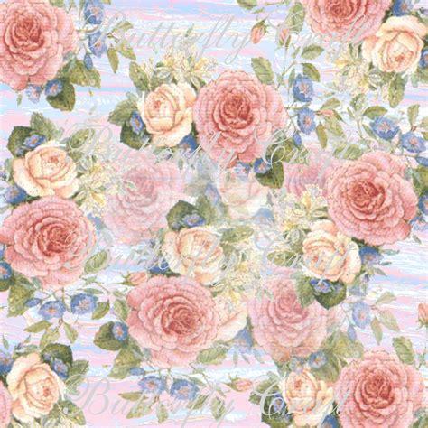 Custom Flower pastel flowers digital paper flower digital paper