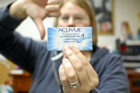 information contact lenses | focus monthly visitint