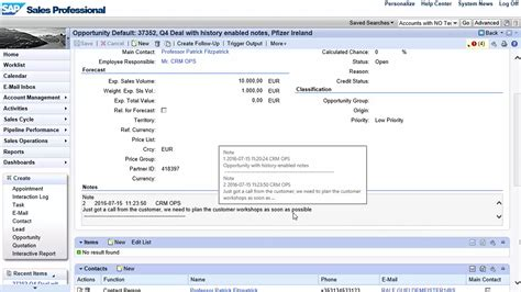 Crm Notes For Mba Students by What S New In Cloud For Customer 1608 Crm Integration