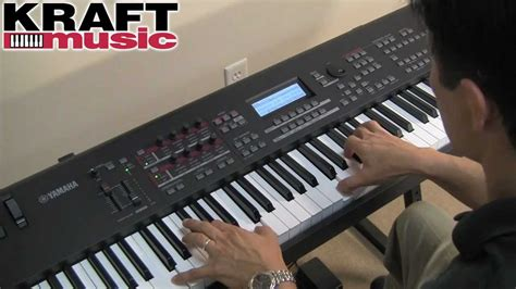 yamaha keyboard tutorial videos kraft music yamaha mox8 mox6 demo with tony escueta