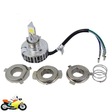 Led Light Bulbs For Motorcycles H4 H6 Ba20d Led Motorcycle Headlight Bulb 12v High Low Beam Fog Light L 2000lm For Harley