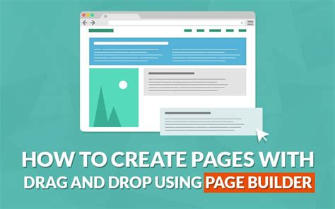 design html page with drag and drop how to create pages with drag drop in wordpress using