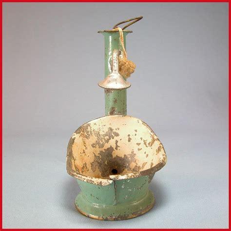 hip bath shower antique dollhouse enameled tin hip bath with