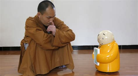 Sanyas Dharma Mastering The And Science Of Discipleship buddha bot temple enlists mini monk robot to boost teachings rt viral