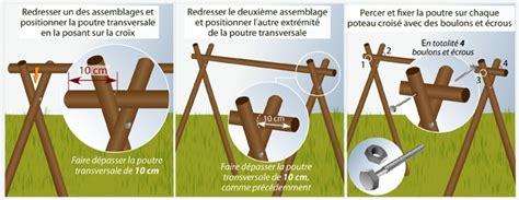 Fabriquer Une Balancoire by Comment Fabriquer Une Balan 231 Oire