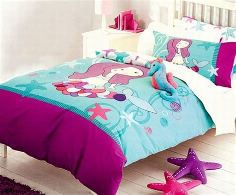 mermaid inspired bedroom girls bedding 30 princess and fairytale inspired sheets