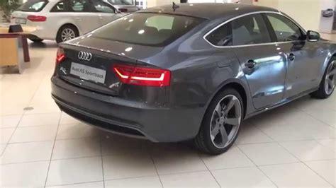 Audi A5 Sportback Sline by Audi A5 Sportback Sline Edition Gris Daytona