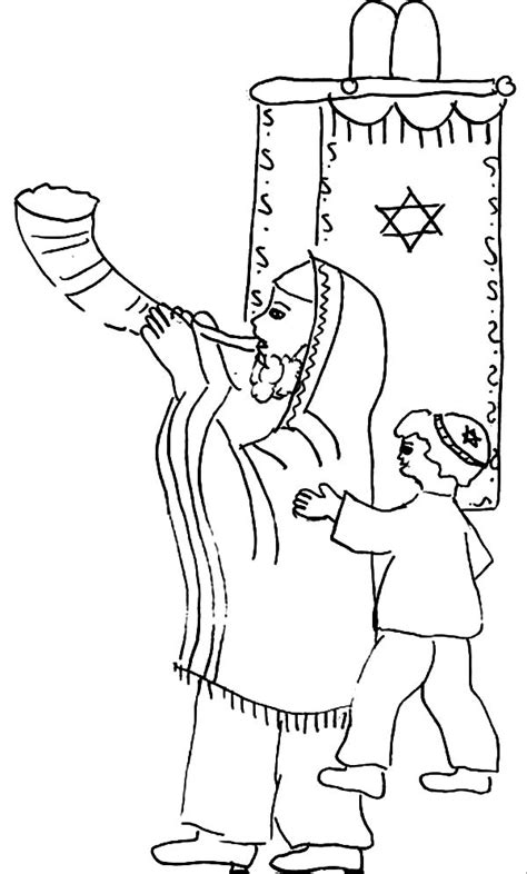 coloring pages for rosh hashanah rosh hashanah coloring pages coloring home