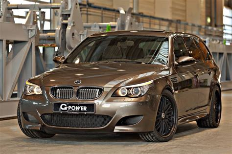 g power bmw m5 touring e61 tuned supercharged station wagon