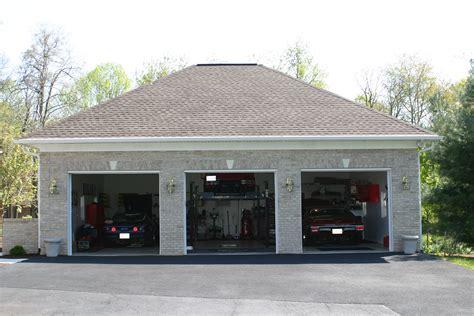 detached 3 car garages amish built island baltimore