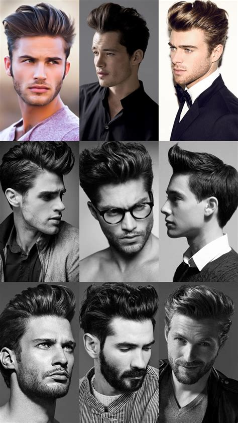 men haircut lookbook the pompadour haircut what it is how to style it