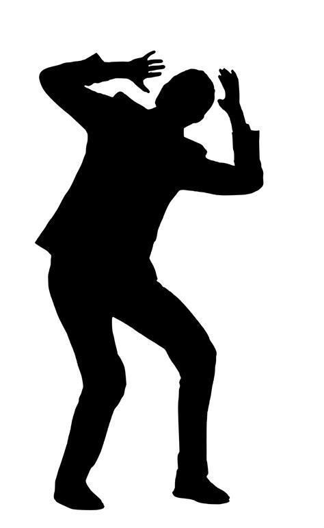 silhouetteafraidbusinessmanhumanfeeling  image