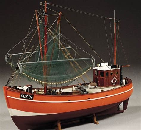 billing boats cux 87 krabbenkutter fishing trawler 1 33 scale billing