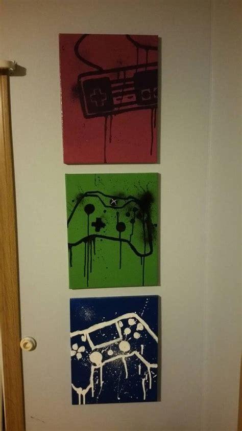 xbox wall decor 25 best gamer bedroom ideas on pinterest