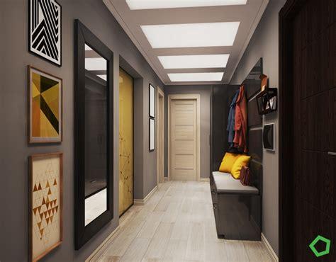 cadres cuisine cuisine ouverte sur salon aux accents gris et jaunes