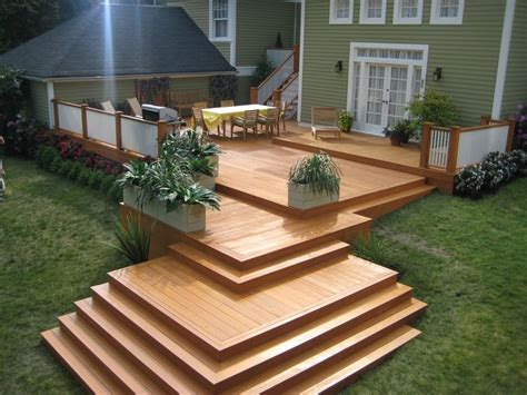 beautiful decks olympic stain deck this is a carpenter s nightmare but
