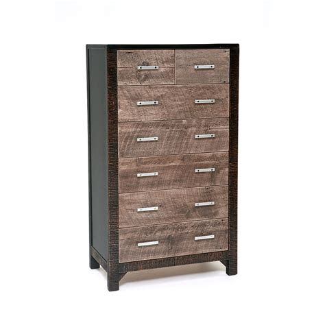 7 Drawer Chest by Graphite 7 Drawer Chest Green Gables
