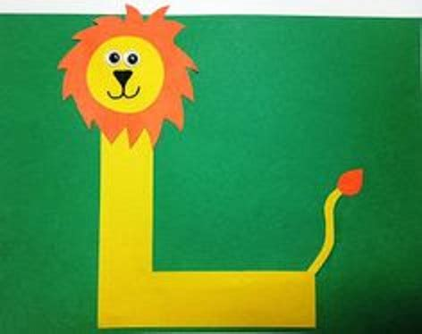 Crafting L letter m crafts preschool and kindergarten