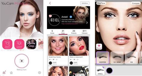 makeover app video look before you lash with ardell s virtual eyelash suite