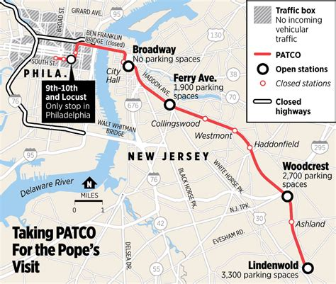 patco map patco map map3