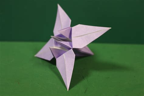 Origami Iris - origami iris 折り紙 菖蒲 折り方 my crafts and diy projects