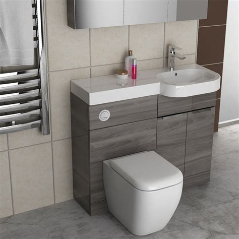 Combined Bath And Shower Units gravity combination vanity unit blue and basin bathroom