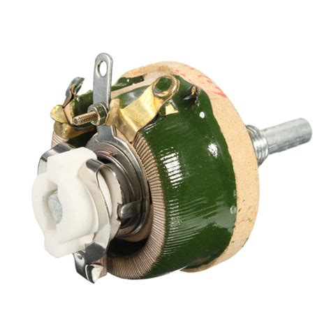 power resistor variable 25w 300 ohm 70x43mm high power wirewound potentiometer rheostat variable resisto