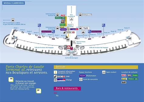 cdg airport map с charles de gaulle airport map terminal 2
