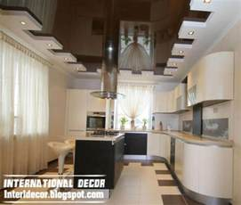 Kitchen False Ceiling Designs by Contemporary Gypsum Ceilings Suspended Ceiling Interior