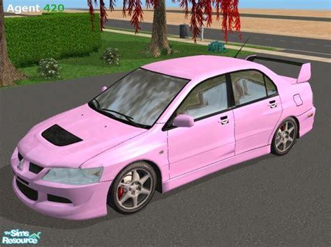 mitsubishi pink agent420 s pink mitsubishi evo viii stock paint