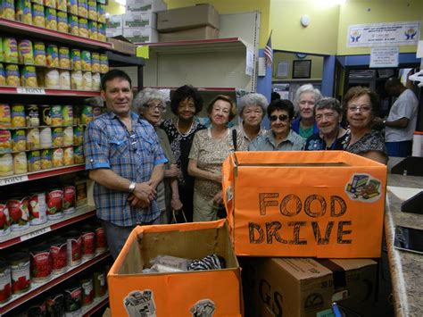 Food Pantry Community Service by Conduct Food Drive Reaching Out Community Services
