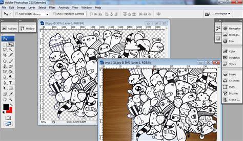 pattern kertas photoshop cara mudah membuat doodle dengan photoshop sumar blog