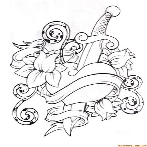 imagenes mas lindas del mundo para dibujar con daga dibujosparacolorear