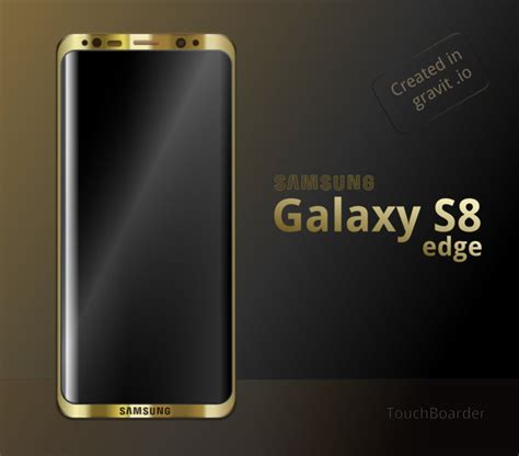 Samsung S8 Edge samsung galaxy s8 edge gold by hsigmond on deviantart