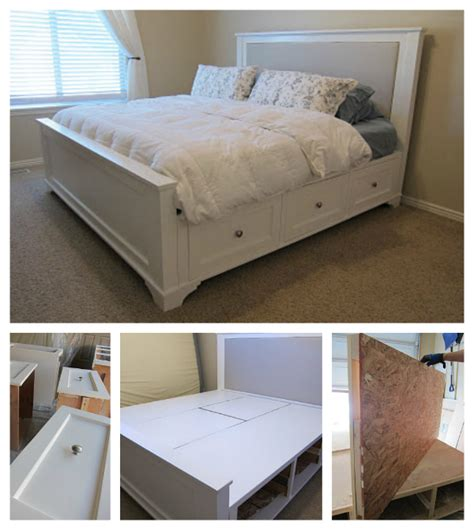 diy king size bed diy king size bed home design garden architecture