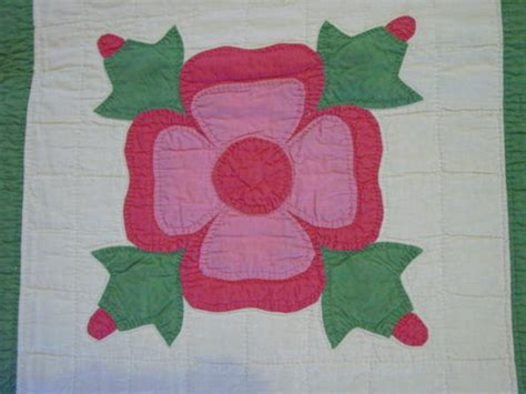 quilt pattern rose of sharon rose of sharon applique quilt sold cindy rennels antique