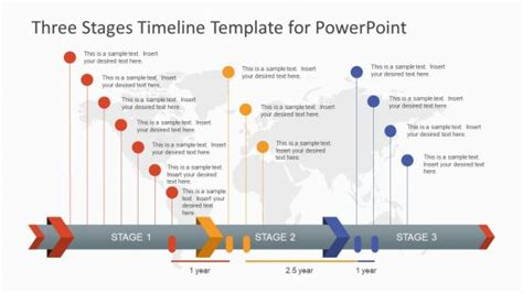 Editable Timeline Templates For Powerpoint Powerpoint Timeline Templates