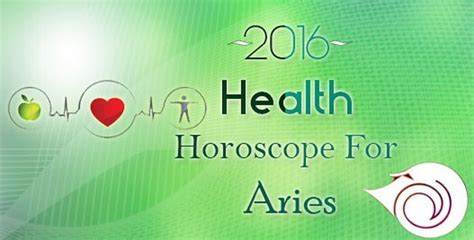 2016 health horoscope for aries horoscope health and fitness