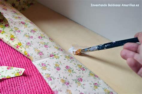 tutorial decoupage papel tutorial para forrar cajones con papel aprende paso a paso