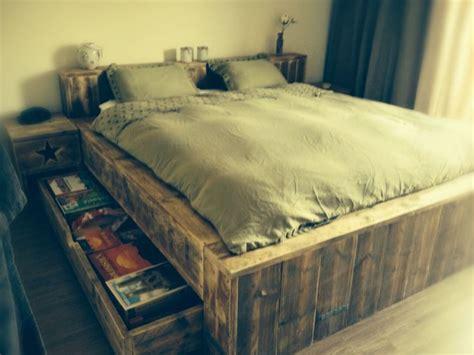steigerhout bed 2 persoons 17 beste afbeeldingen over steigerhouten twee persoons bed
