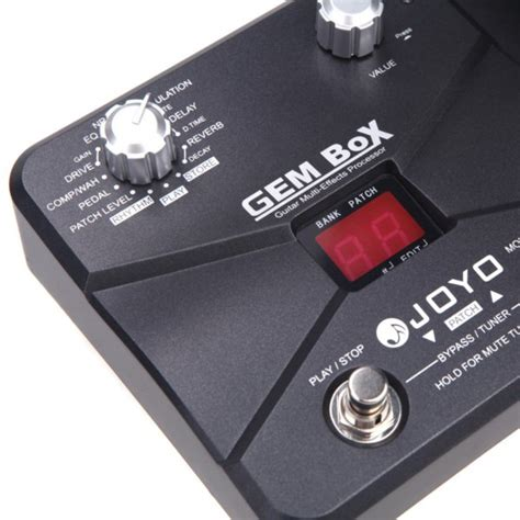 Joyo Gem Box Guitar Multi Effects Processor Pedal joyo gem box guitar multi effects processor pedal alex nld