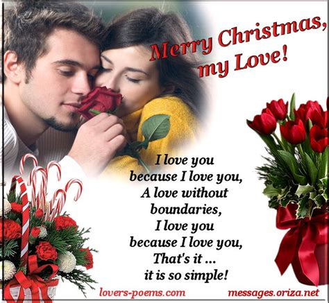 romantic love christmas message  orizanet portal lovers poemscom art romance poetry