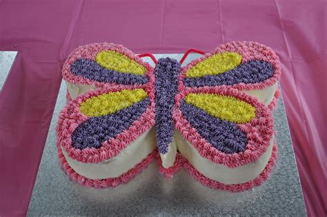 butterfly birthday cake template printable google search