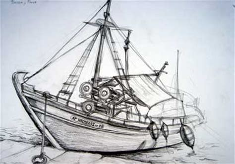 fishing boat sketch artists on the move student gallery