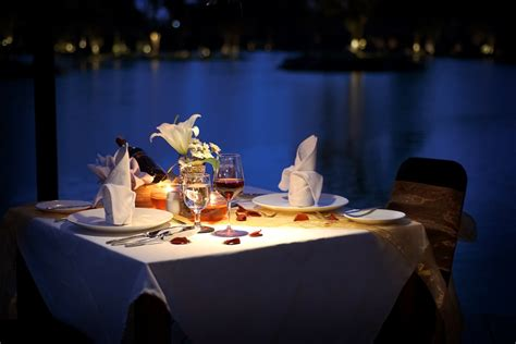 romantic dinner the westlake resort yogyakarta